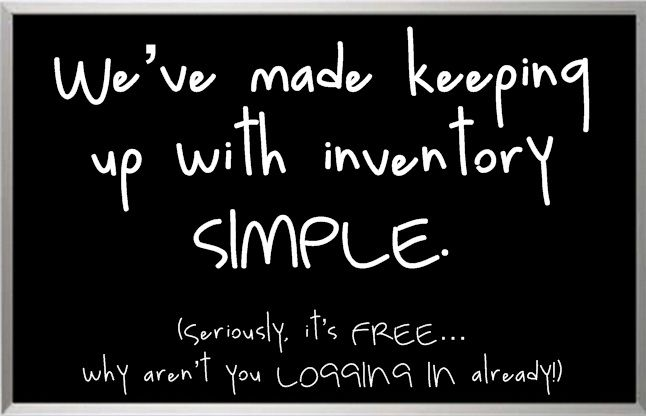 Small Business Inventory | Free Online Inventory System | Inventory Management