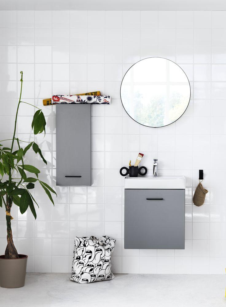Skapa - uutuus pieniin kylpyhuoneisiin. Kokonaisuus, johon voit jättää oman sormenjälkesi. www.svedbergs.fi #habitare2016 #design #sisustus #messut #helsinki #messukeskus