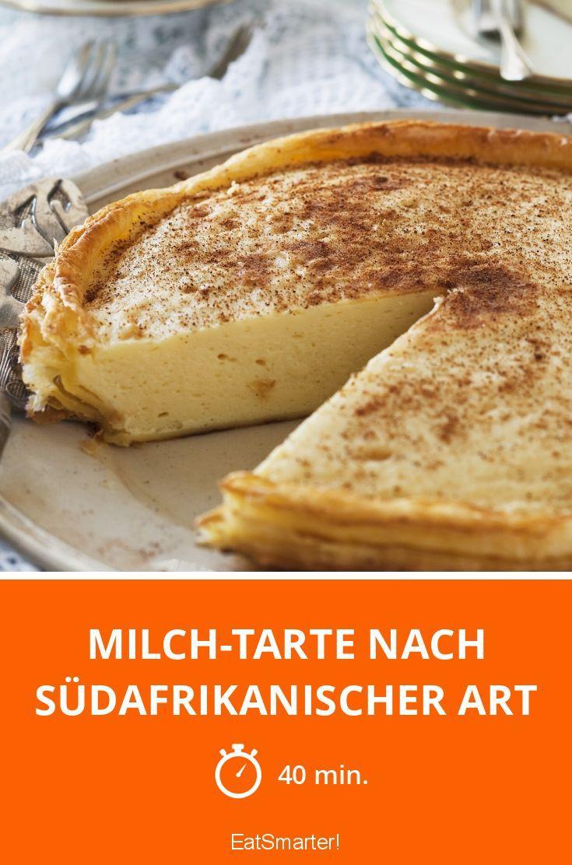 Milch-Tarte nach südafrikanischer Art - smarter - Zeit: 40 Min. | eatsmarter.de