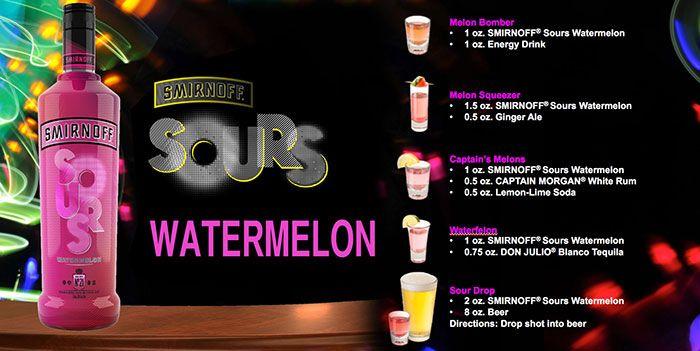 smirnoff sours watermelon