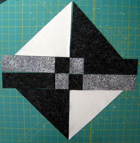 Granny's choice quilt block tutorial