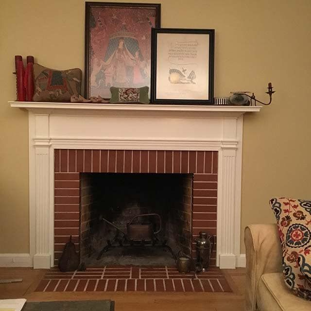 Decorative Fireplace Covers look great - Insulated Decorative Magnetic Fireplace Covers | Fireplace Fashion