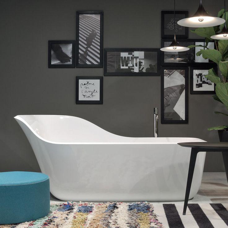 Antoniolupi ''Wanda'' collection | design Daniel Debiasi and Federico Sandri Antoniolupi ''Wanda'' koleksiyonu | tasarım Daniel Debiasi and Federico Sandri #bathroomdesign #bathroomdecor #luxurybath