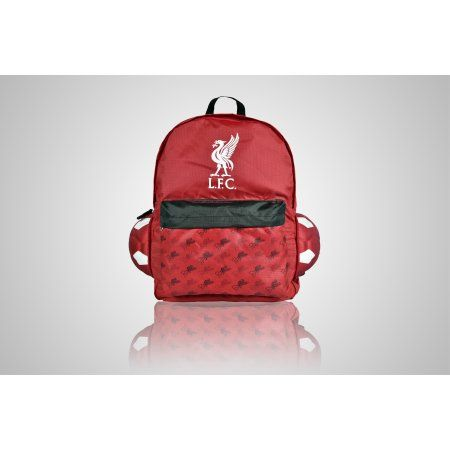 Liverpool Soccer Ball Backpack, Black