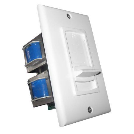 Pyle Wall Mount Impedance Matching Vertical Sliding Volume Control, Multicolor