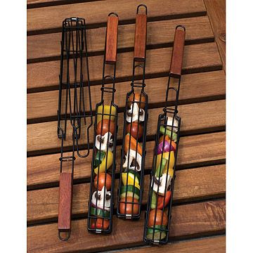 Look what I found at UncommonGoods: Kabob Grilling Baskets for $19.98 #uncommongoods