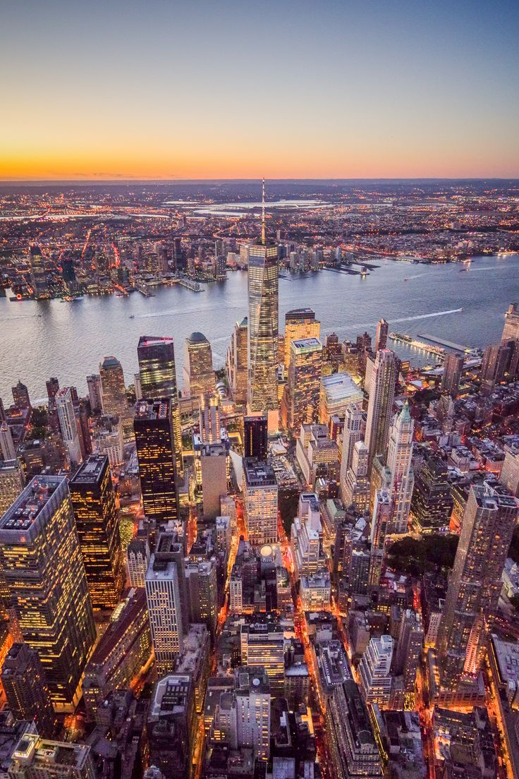 One World Trade Center Aerial by Toby Harriman - Photo 130771563 - 500px