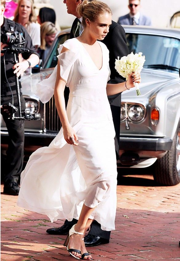From+Kate+Bosworth+to+the+Olsens,+13+Gorgeous+Celebrity+Bridesmaids+via+@WhoWhatWear