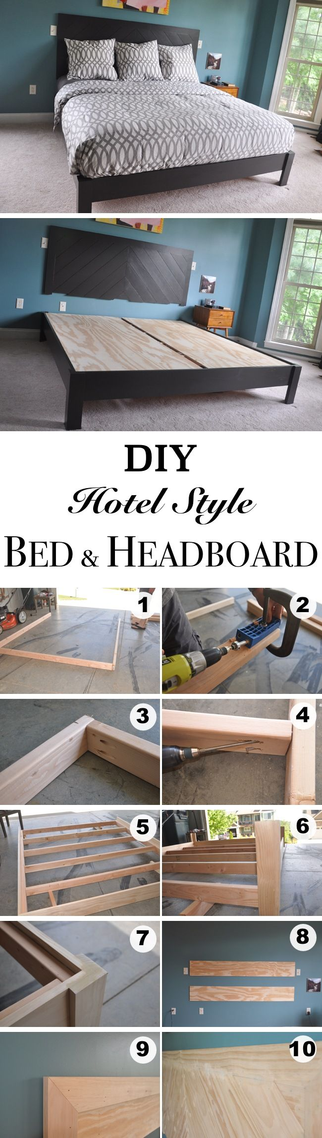 Diy Bed Headboard Ideas best 10+ bed frame and headboard ideas on pinterest | diy bed