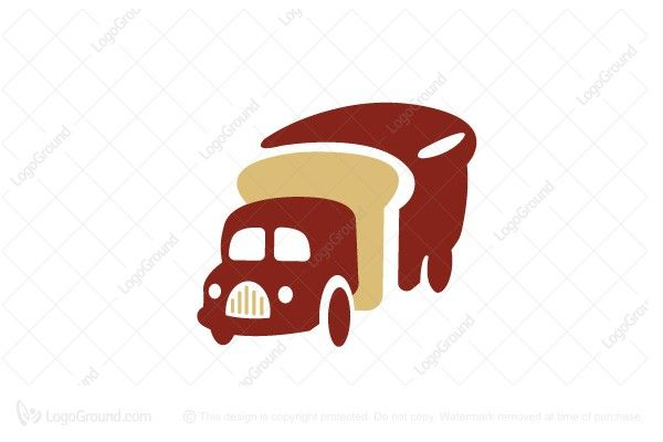 Logo for sale: Stavros Food Truck Bread Logo Design Logo