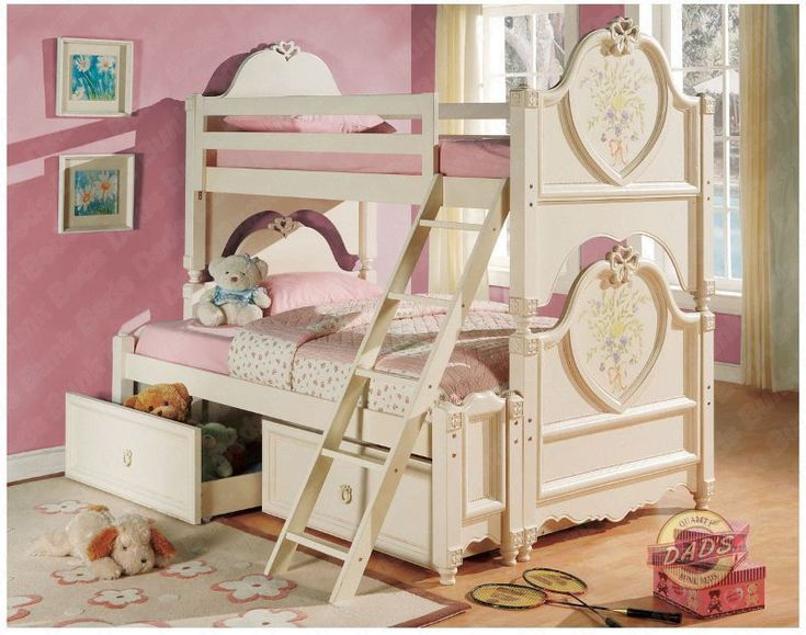 princess bunk Kids beds Pinterest