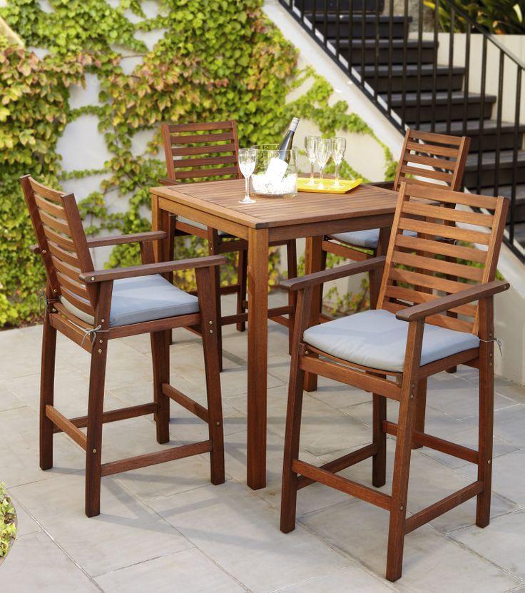 Del Terra Midland 5 Piece Bar Setting · Furniture CollectionOutdoor ...