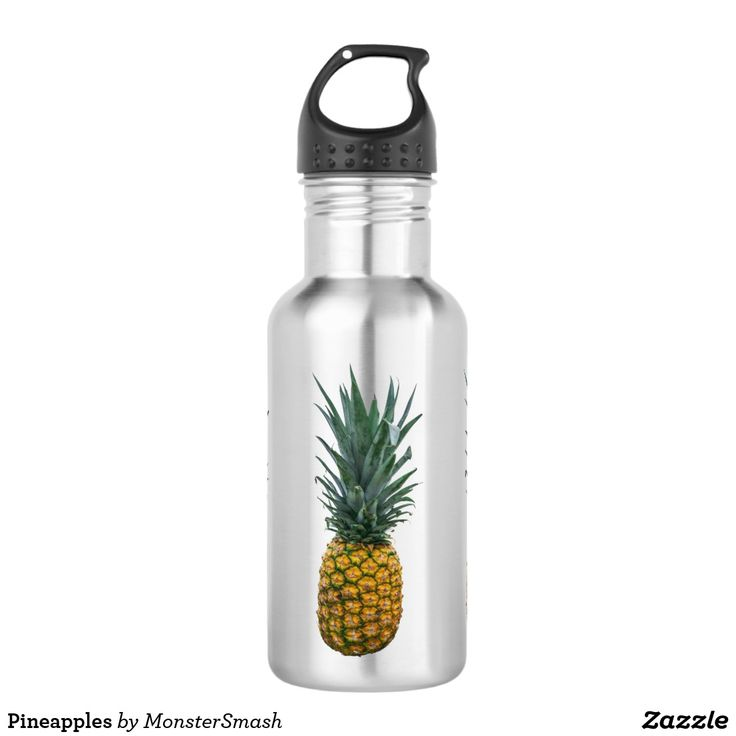 Pineapples 532 Ml Water Bottle
