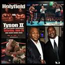 "June 28, 1997: Holyfield–Tyson II — Mike Tyson is disqualified in the 3rd round for biting a piece off Evander Holyfield's ear. Evander Holyfield vs. Mike Tyson II, billed as ""The Sound and the Fury,"" took place at the MGM Grand Garden Arena in Las Vegas, Nevada. The referee officiating the fight wa...June 28, 1997: Holyfield–Tyson II — Mike Tyson is disqualified in the 3rd round for biting a piece off Evander Holyfield's ear. Evander Holyfield vs. Mike Tyson II, billed as ""The Sound and the…"