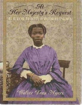 Black British Royalty. Lady Sarah Forbes Bonetta Davis was often at Queen Victoria's Court.