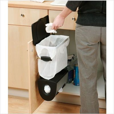 Under Cabinet Waste Bins | After Using The Simplehuman Trash System , Iu0027m  Intrigued