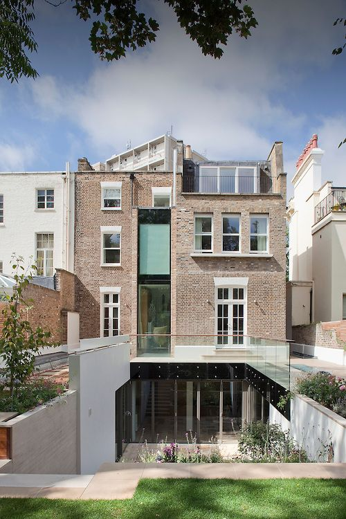 Modern house extension, London