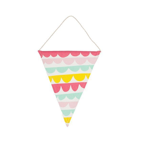 General Eclectic Scallop Banner - All That I Need