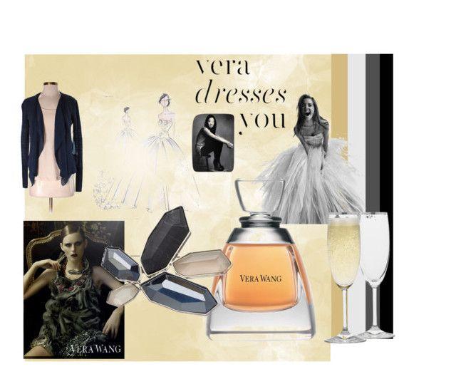 """Assignment 3 - Designer Profile - Vera Wang"" by emma-tia-baronetti on Polyvore featuring Vera Wang, Simply Vera, VeraWang, fashionstudent and Designerprofile"