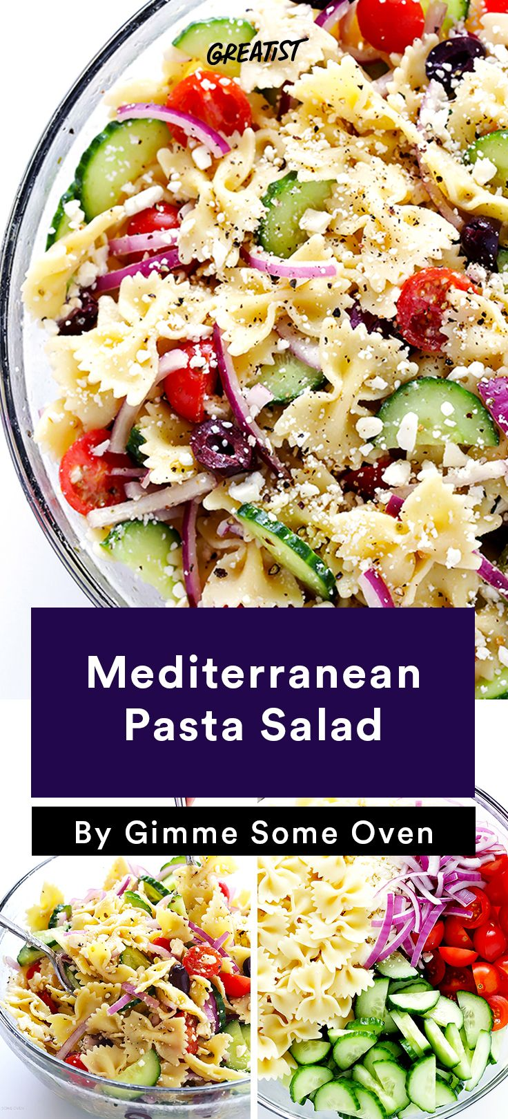 Healthy mediterranean pasta salad recipes