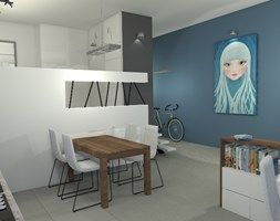 Nowoczesny loft z nutką przytulności ;) - zdjęcie od e-wnetrza.pl
