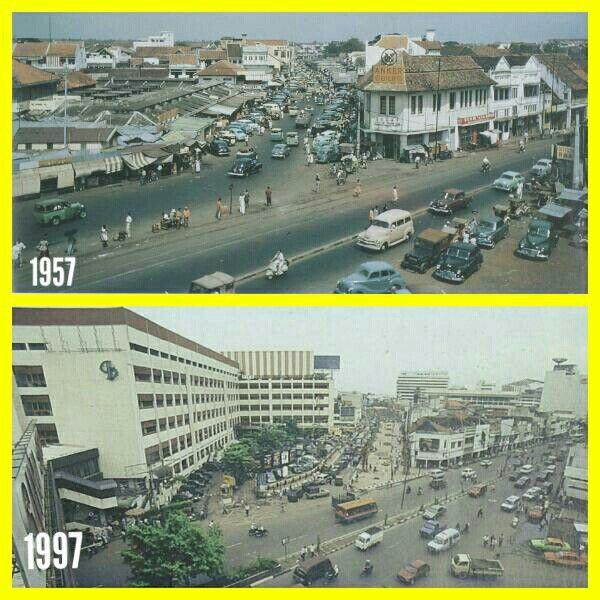 Apotheek Chung Hwa Glodok Jakarta 1957 & 1997.