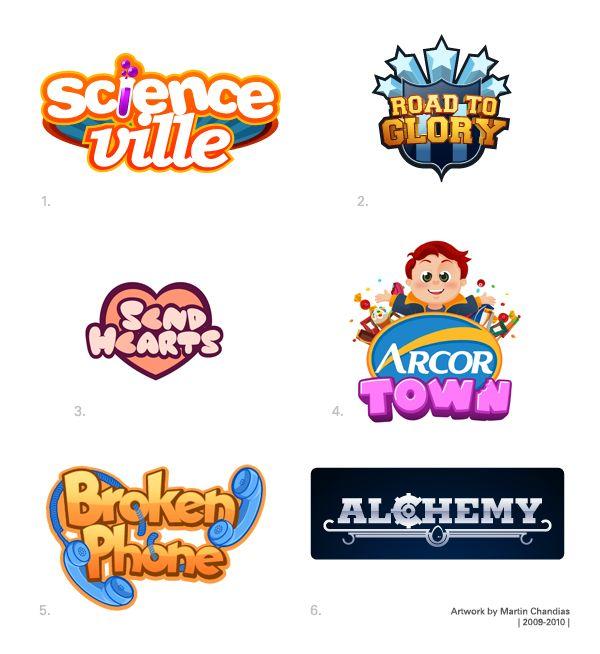 Video Game Logos on Behance