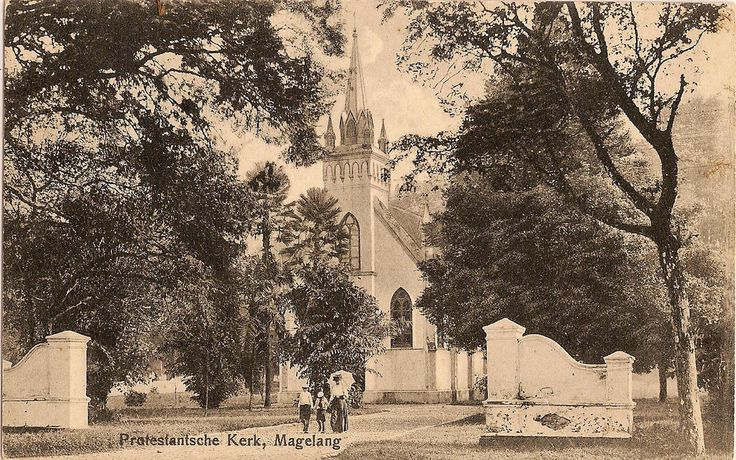 Tempo Doeloe #24 - Magelang, Protestant Church, 1917 | Flickr - Photo Sharing!