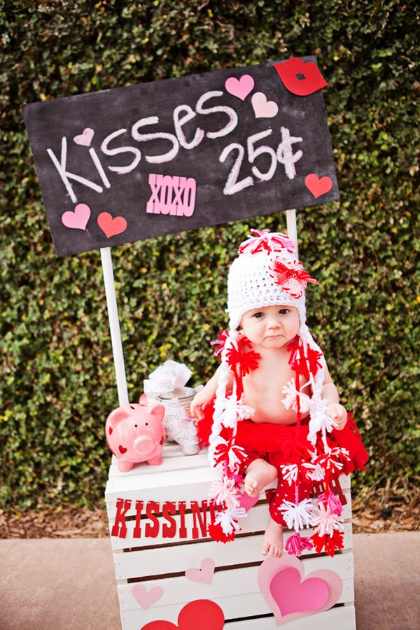 Kissing Booth - would be cute for a baby parade