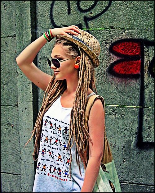 #blonde #dreads #dreadlocks #dreadlove #blondedread www.doctoredlocks.com