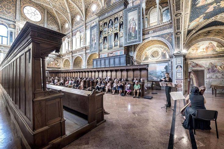Francesco Radino Milano e i suoi musei - San Maurizio al Monastero Maggiore.