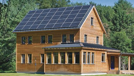 The cost of solar pannels it is huge , but not only solar pannels also windmills and things to make your house sustainable , that is a big issue