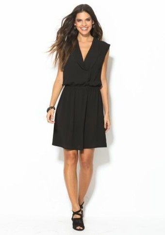 Večerné šaty s čipkovaným chrbtom #ModinoCZ #dress #fashion #style #elegance #black #blackdress #littleblackdress #LBD