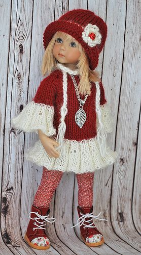 Knitted dress; could be AG: