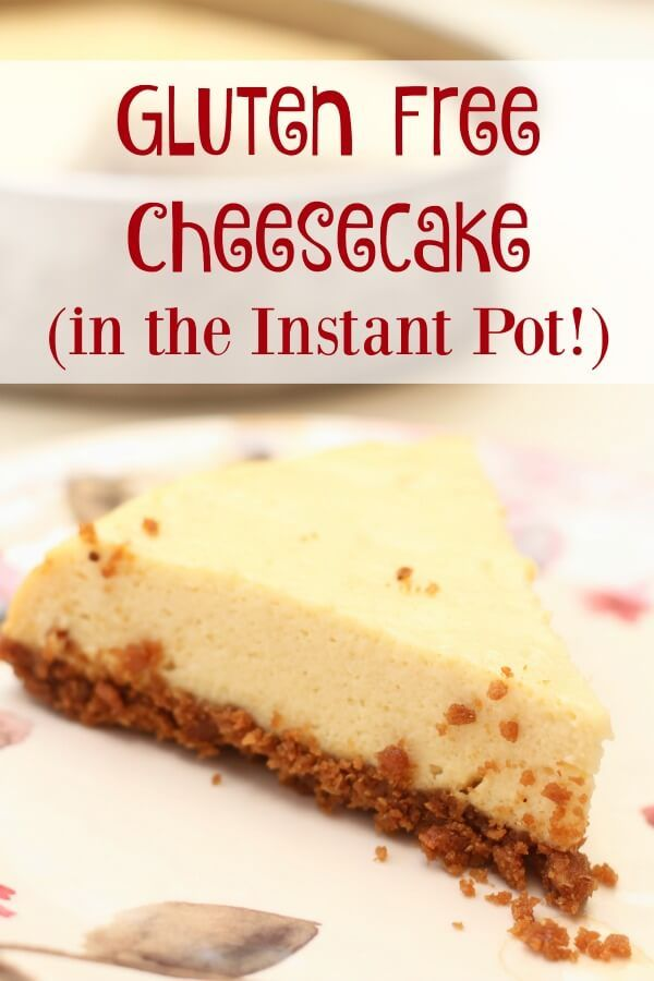 Cheesecake is da bomb. And if you're on a gluten free diet, you may miss the real deal - here is an incredible gluten free version!!