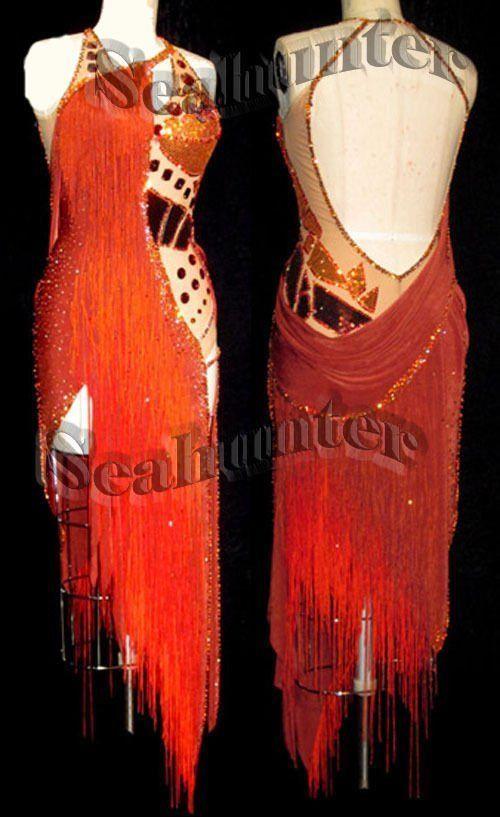 U5448 Cow-Boy ballroom women Latin salsa swing rumba dance dress custom made | eBay