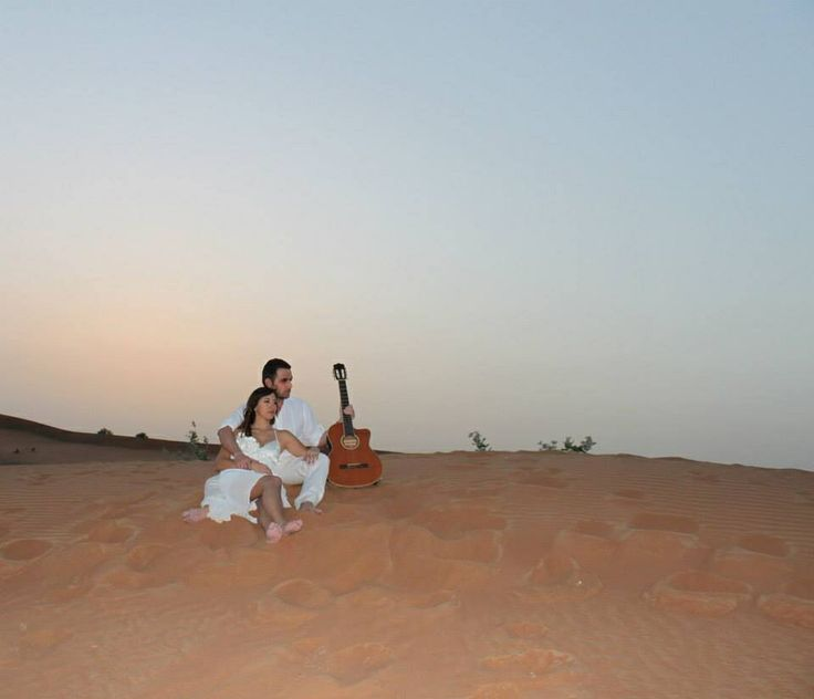Pre Wedding photoshoot - in the desert