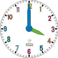 orologio con minuti da montare