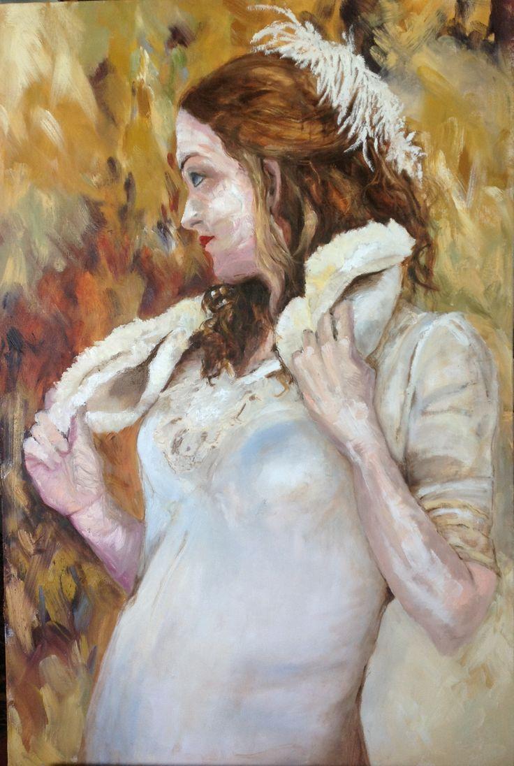 "Pauline Hugo - ""Lady in White"""