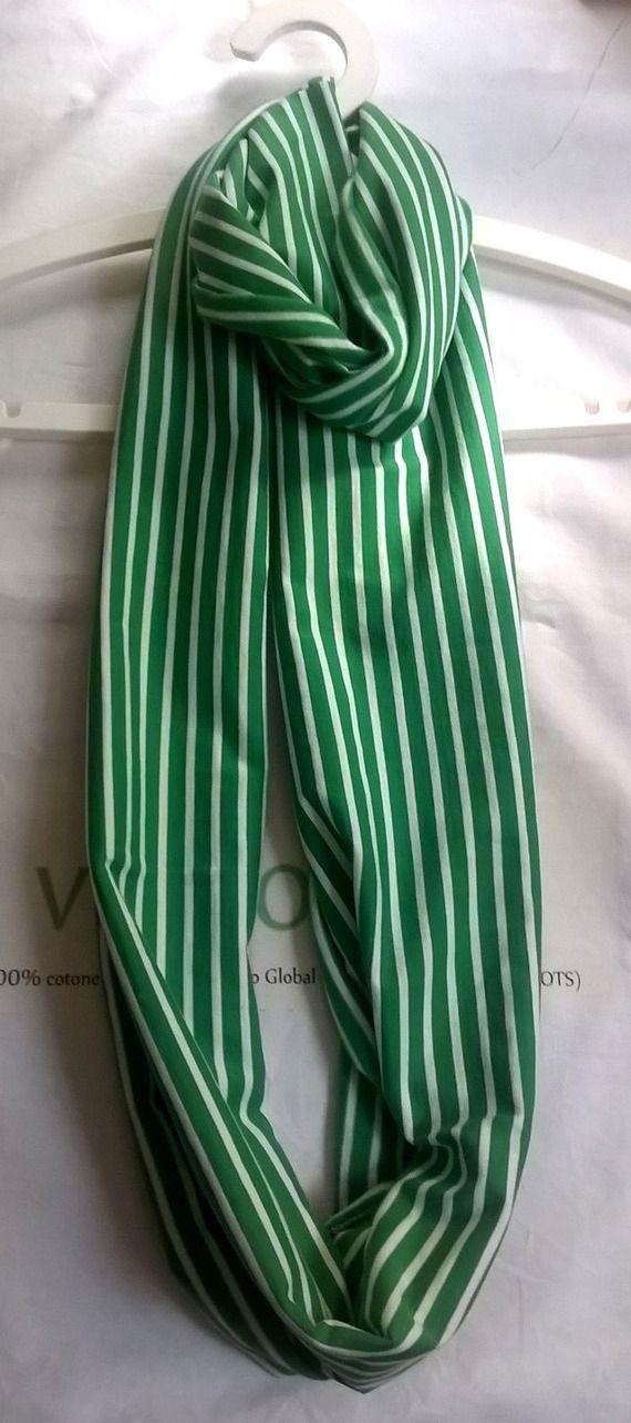Sciarpa ad anello (infinity scarf) in cotone  certificato GOTS