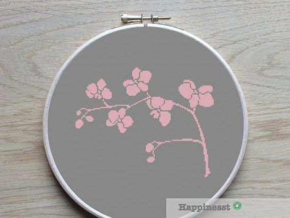 Hey, I found this really awesome Etsy listing at https://www.etsy.com/listing/229726864/cross-stitch-pattern-orchid-modern-cross