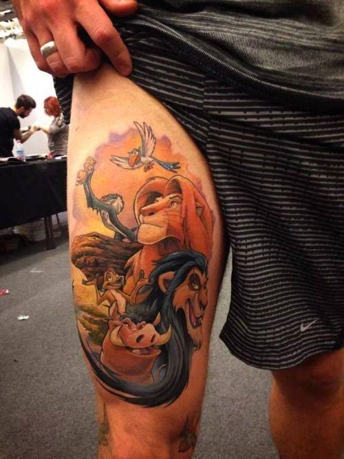 Disney Lion King Tattoo Designs Images