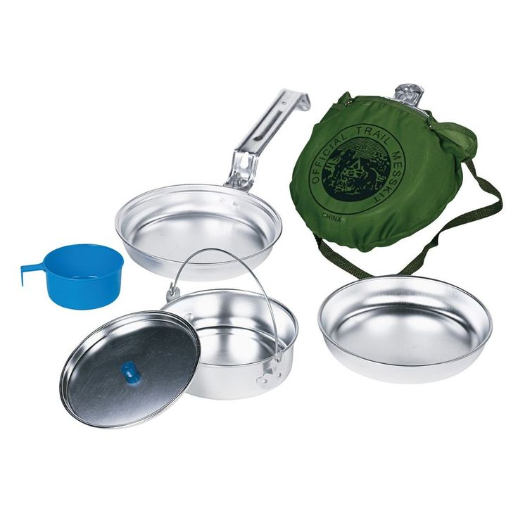 Wenzel Deluxe Mess KitTop Quality Personal Aluminum Cookware  #Wenzel
