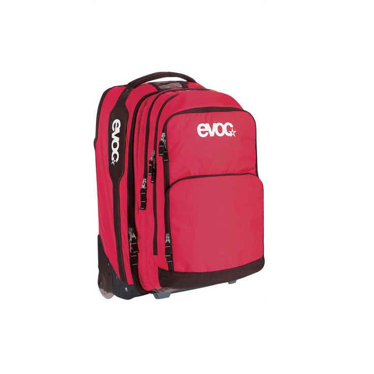 2012 Evoc Terminal Bag - Red - - by Evoc - 2012 Evoc Terminal Bag - Red Versatile Travel Trolley As Additional Luggage Item