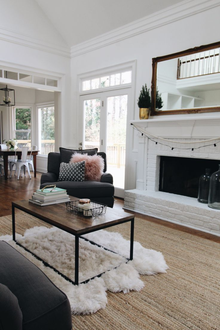 Cozy Family Room Tour // Furniture By /jonathanlouis/