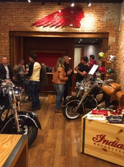 Indian Motorcycle abre loja em shopping de Campinas