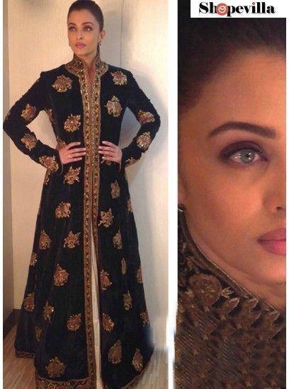 Shopevilla Fancy Black Joya Silk Designer Gown-KD-1110