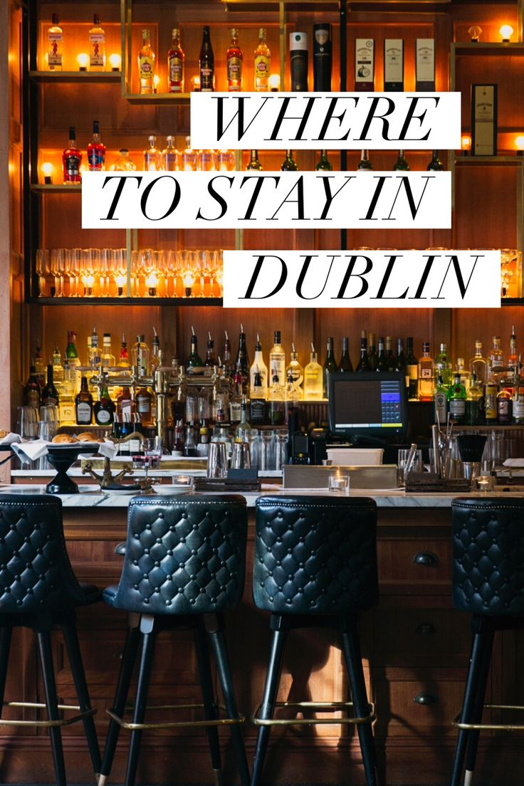 Where to stay in Dublin: the trendy Dean Hotel in the city's nightclub district.