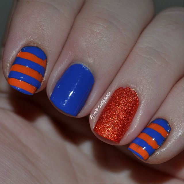 213 best PCWCL Florida Gator Nails images on Pinterest