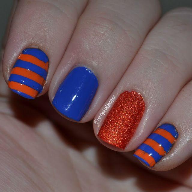 213 best PCWCL Florida Gator Nails images on Pinterest ...